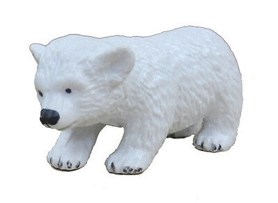 FREE SHIPPING | AAA 53003 Polar Bear Cub Figurine Replica Model - New in Package