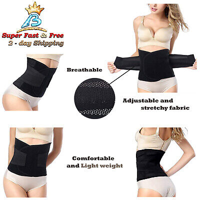 Waist Slim Wrap Postpartum Postnatal Recovery Support Girdle Belt Body Shaper