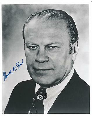 President Gerald Ford- Glossy Signed Photograph