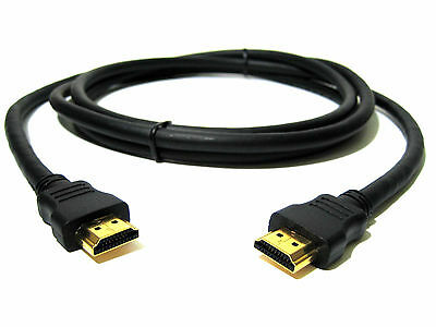 Premium HDMI Cable 3M Gold Plated Pins 4K 3D Ultra HD BluRay3D XBOX PS3 PS4