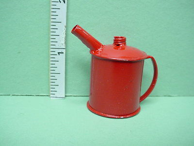 Dollhouse Miniature Red Gas Can G8652