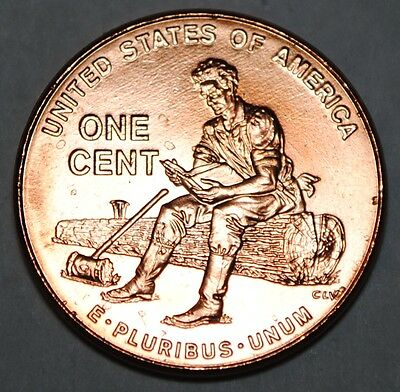United States 1 Lincoln Cent 2009 D Formative Years BU USA Penny UNC KM# 442