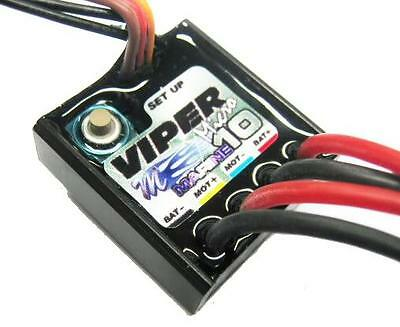 Mtroniks Micro Viper 10A Marine ESC Speed Controller for RC Boats - Waterproof