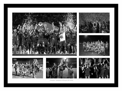 Liverpool FC European Cup & Champions League 1977-2005 Photo Memorabilia (LFC01)