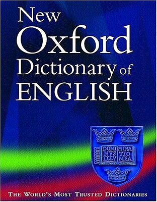 New Oxford Dictionary of English Hardback Book The Cheap Fast Free Post