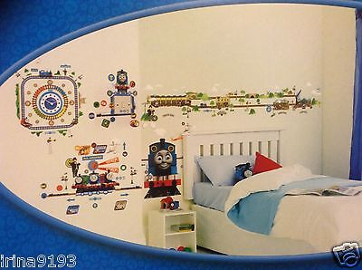 Thomas & Friends Lumiglow Vinyl,Tick Tock,Doobell,Room Wall Stickers,Home Decor