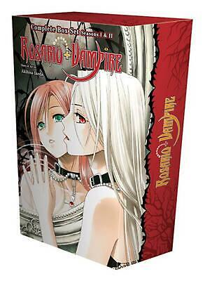 Rosario + Vampire Complete Box Set: Volumes 1-10 and Season II Volumes 1-14 with