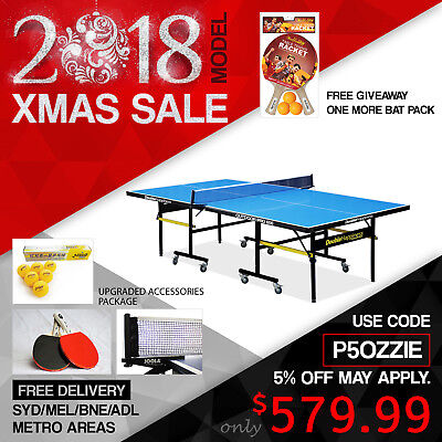 19Mm Top 40Mm Leg Table Tennis/ping Pong Table Free Syd/mel/bne/ade Shipping