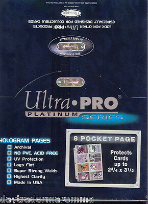 **Special*New Ultra pro 8 pocket pages x 10 pack