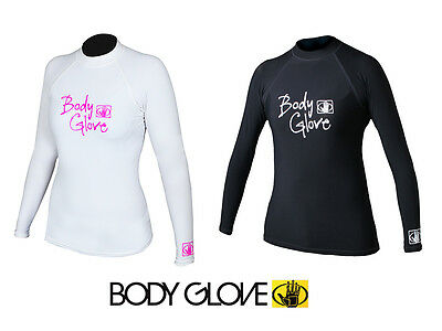 Body Glove Damen Rash Guard Lycra Shirt langarm