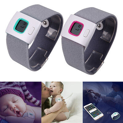 Intelligent Wearable Safe Soft Thermometer Bluetooth Smart Baby Kids Monitor New
