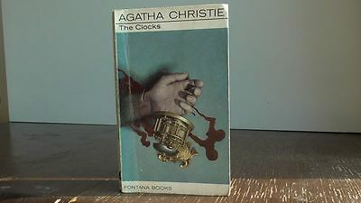 "Vintage Fontana book #1268 ""The Clocks"" by Agatha Christie"
