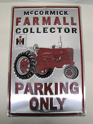 Farmall Collector Parking Only Sign