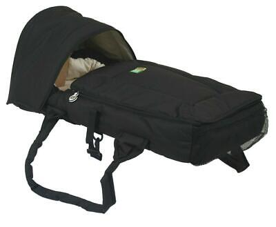 Veebee Walkabout Infant Cocoon (Black With Butter Lining)