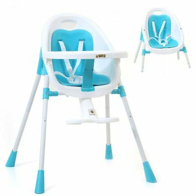 Veebee Pop2 3 In 1 High Chair (Ocean Blue)
