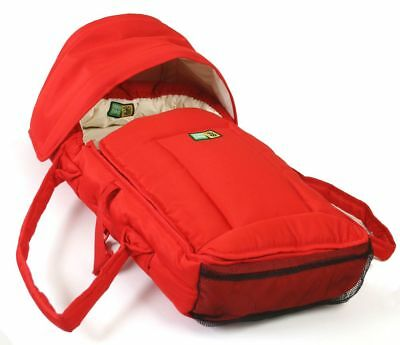 Veebee Walkabout Infant Cocoon (Red With Cream Lining)