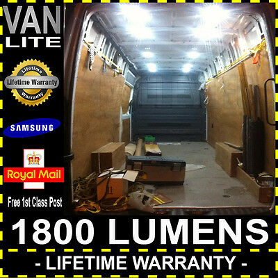 30 LED Bright White Interior Car Van Auto Roof Light 12W DC 12V Lamp Truck