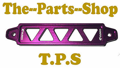 New Purple Honda Civic Battery Tie Down Bracket Mount To Fit: Civic Eg 92-95  93
