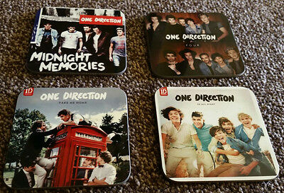 One Direction Album Cover COASTER Set