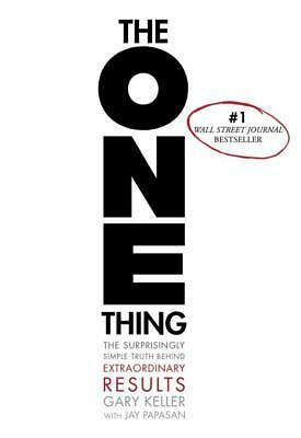 The One Thing - Gary Keller (Hardcover) New