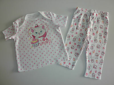 "DISNEY Really Cute Aristocats MARIE ""So Scrummy"" PJ's NEW"