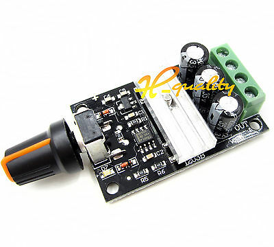 DC 6V - 28V 3A PWM Motor Speed Varible Regulator Controller Switch