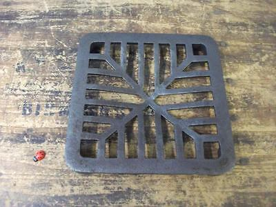 """6""""  square Cast Iron Replacement Drain Cover Grate domed heavy duty"""