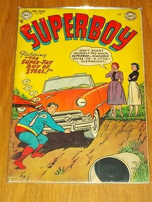 Superboy #24 Vg (4.0) Dc Comics February March 1953