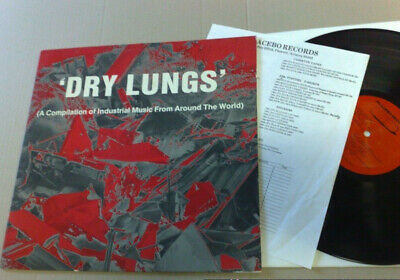 Dry Lungs 1985 Placebo Records Lp With Insert