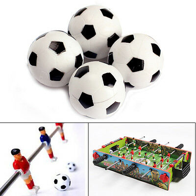 4pcs 32mm Plastic Soccer Table Foosball Ball Football Fussball for Kids Toy Gift