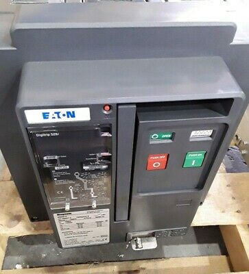 MWI616 Eaton 3 Pole 1600 Amp 600 Volt Air Circuit Breaker
