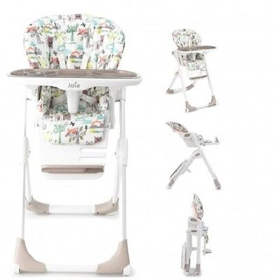 New Joie Mimzy Tilly & Wink Adjustable Highchair Baby Feeding High Chair