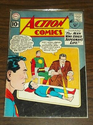 Action Comics #281 Vg+ (4.5) Dc Comics Superman October 1961