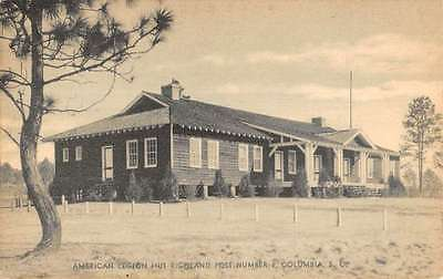 Columbia South Carolina American Legion Richland Post Antique Postcard K12387