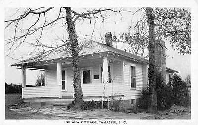 Tamassee South Carolina Indiana Cottage Exterior Antique Postcard K12459