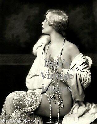 "New York City Photo Flapper Muriel Finlay #1 Ziegfeld Follies1928 Vintage 8""x10"""