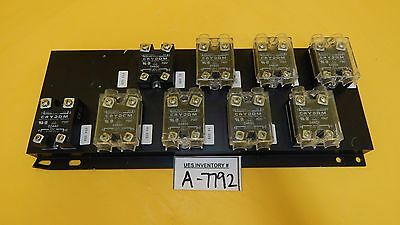 Crydom D4850 D2440 Solid State Relay Reseller Lot of 9 Used Working