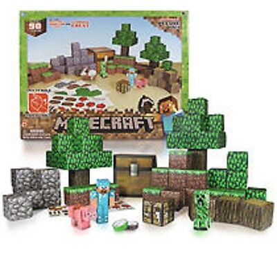 Minecraft Papercraft Deluxe pack 90-Piece Pack #Item 16721