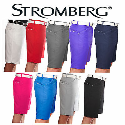Stromberg Sintra Slim Fit Funky Technical Golf Shorts