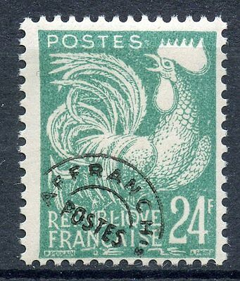 Stamp / Timbre France Preoblitere Neuf Sans Gomme 114 Type Coq