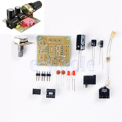 1pcs LM386 Super MINI Amplifier Board 3V-12V DIY Kit TW