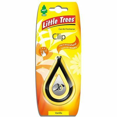 Magic Tree Little Trees Vanilla Clip Car Home Air Freshner