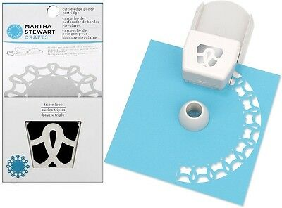 Martha Stewart Circle Edge Punch ~Triple Loop (Special Price Was $26)