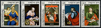 Luxembourg 1978 SG#1013-7 Glass Paintings MNH Set #D1381