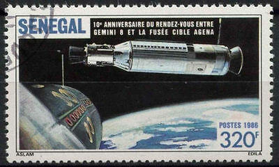 Senegal 1987 SG#885 Gemini 8, Space Cto Used #D1040