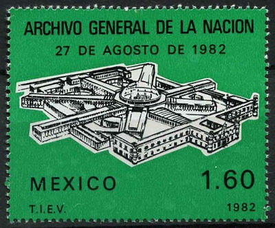 Mexico 1982 SG#1655 State Archives Building MNH #D847