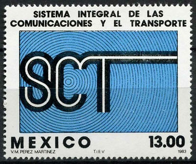 Mexico 1983 SG#1687 Transport & Comminications MNH #D858
