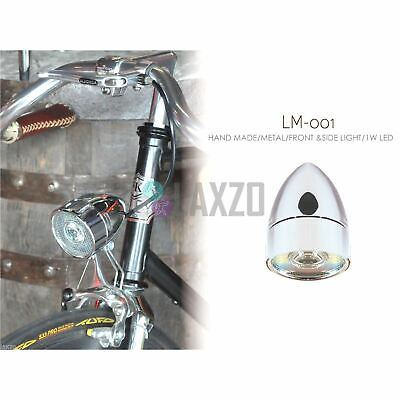 Kiley Front - Head Led Light LM-001 For Retro Vintage Classic City Tour Bikes