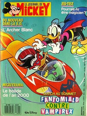 Le journal de Mickey n°1840  du 29 septembre 1987 - Mickeyrama Bolide Rouge