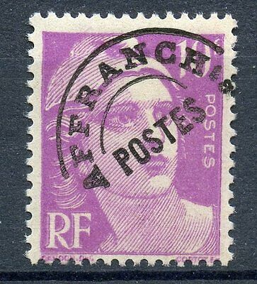 Stamp / Timbre France Preoblitere Type Gandon Neuf Sans Gomme  N° 102